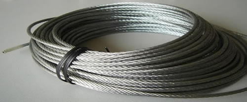 Galvanised Steel Wire Used in the rope