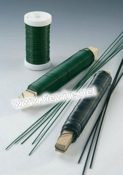 Green Color Floral Wire
